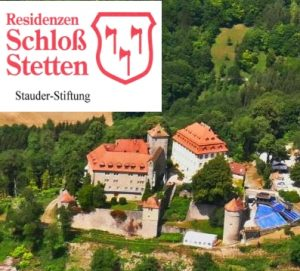 Schloss Stetten mit Logo